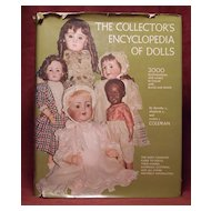"Coleman's ""The Collector's Encyclopedia of Dolls"" First Edition 2nd printing"