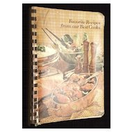"""1982 Louisiana Charity Cookbook """"Favorite Recipes from our Best Cooks"""""""