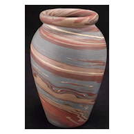 "Niloak Mission Swirl Cabinet Vase 4 3/4"""