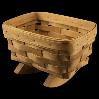 Vintage Longaberger Mini Cradle Basket