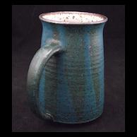Raymond Galluci Stoneware Mug - Turquoise Frogskin Glaze