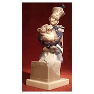 Royal Copenhagen #1156  Soldier & Dog from HC Andersen's Tinderbox series