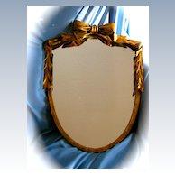 Wonderful Gold Leaf Metal Mirror Frame