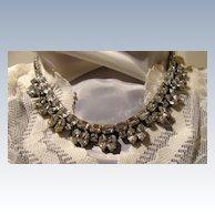 Vintage Designer Quality Rhinestone Necklace