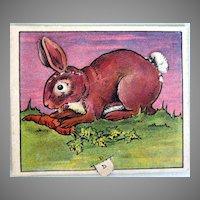Butter-Nut Bread Advertising Rabbit