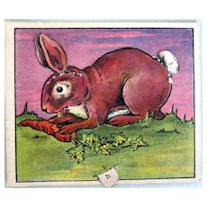 Butter-Nut Bread Advertising Rabbit
