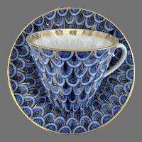 Lomonosov USSR Porcelain Cup and Saucer