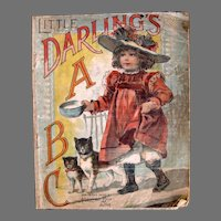 Little Darlings ABC Cloth Childrens Book