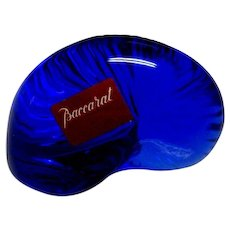 Baccarat Cobalt Glass Shell