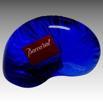 Baccarat Cobalt Glass Shell