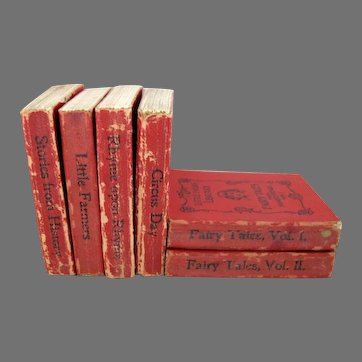 Little Folks Library 1896 Set of 6