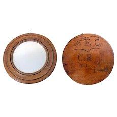Folk Art Mirror Hand Made
