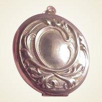 Vintage Gold Filled Locket/Nouveau design
