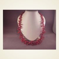 Long Strand Red Branch Coral/26""