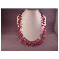 """Long Strand Red Branch Coral/26"""""""