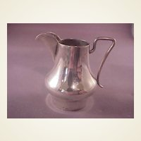 Vintage 800 Silver Miniature Pitcher/German