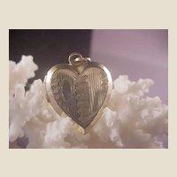 Vintage GF Heart Locket
