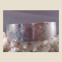 Vintage Sterling Cuff Bracelet