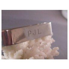 Vintage Gorham Sterling Napkin Ring/ PJL