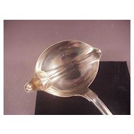 Vintage Christofle SP 2 sided Ladle/Versailles