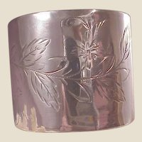 Gorham Sterling Napkin Ring/E.A. Langdon