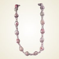 Gorgeous Venetian Bead Necklace