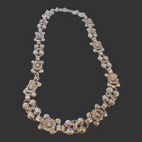 Vintage Estate Sterling Necklace