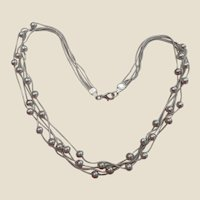 Vintage Sterling Silver Heavy Chain 194grams