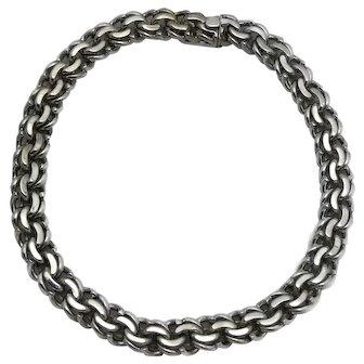 133GR C. Avila de la Borda Mexico City Sterling Silver Necklace