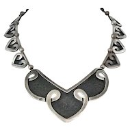 Margot de Taxco #5195 Mexican Sterling Silver Necklace