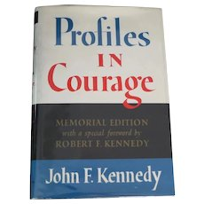 Inscribed & Signed by Jacqueline Kennedy 1964 Profiles In Courage Memorial Edition Book