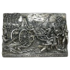 "8 3/8"" Henryk Winograd Sterling Silver High Relief Plaque"