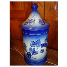 French stoneware Apothecary pot