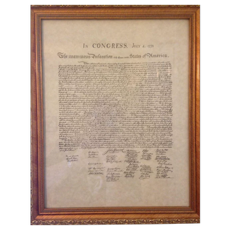 Reproduction-Declaration-of-the-thirteen-United-States-of-America-July-4th-1776
