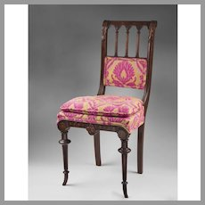 19th C. English Arts & Crafts Side Chair
