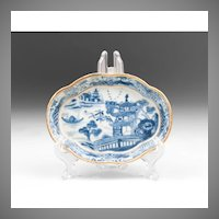 18th C. Nanking Oval Dish