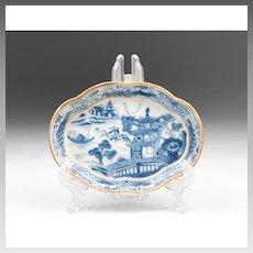 18th C. Nanking Oval Dish