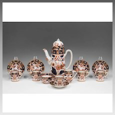 "Booth's China Tea Set, ""Rajah"" Pattern, 13 Pcs."