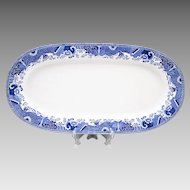 Large 19th C. Spode Copeland Game Platter
