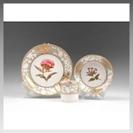 1820-30 Spode Trio, Pattern Lady Blessington