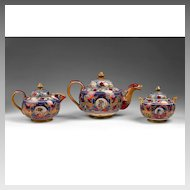 Alfredo Santarelli Lusterware Ceramic Tea Set