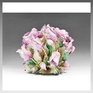 Large Capodimonte Porcelain Tulip Centerpiece