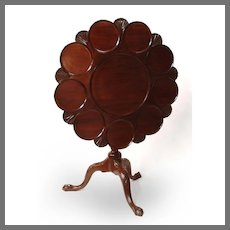 19th C. George III Tilt-Top Supper Table