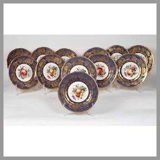 Davis Collamore & Co. Fruit Plates by Spode Copelands China (12)