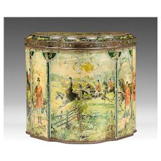Huntley & Palmers, Hunting Biscuit Tin, 1894 – 1895