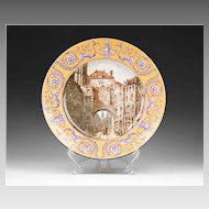 Rouen Style French Faience Charger