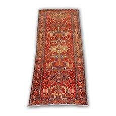 Antique North West Persian Karaja runner