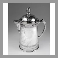 Pairpoint Quadruple Silver Plate Victorian Hot Water Tankard