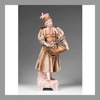 Ernst Wahliss – Alfred Stellmacher Gypsy Figurine