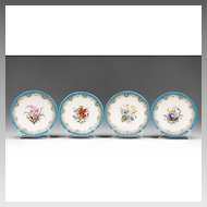 William Brownfield Staffordshire Hand Painted Plates, 4